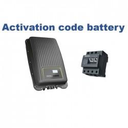 Código Activación Baterias...